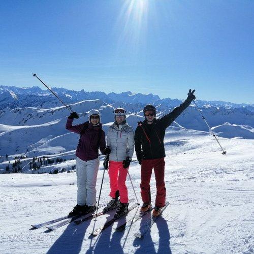 Bild zum Weblog Wintersportlager Februar 2019 in Vorarlberg