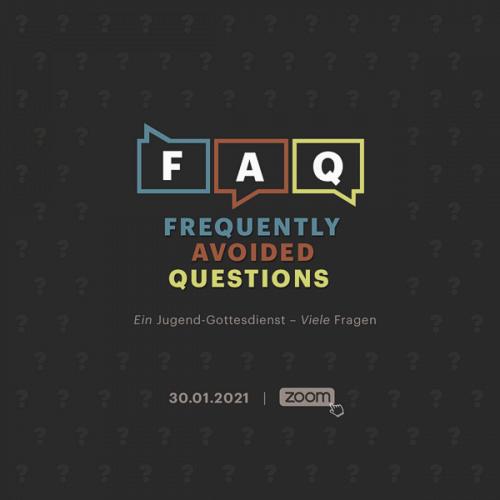 Bild zum Weblog FAQ – Jugendgottesdienst