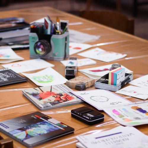 Bild zum Weblog Talenteschmiede: Malen und Handlettering
